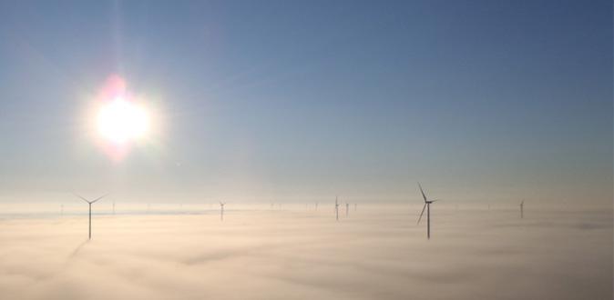 Wind farm Halkirk, Canada